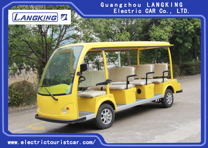 High Speed 11 Seats Electric Shuttle Bus 72V/5.5KW Bus Seat With Bucket Y111B