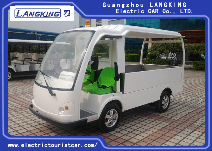 F / R Tread 1210 / 1200mm Electric Utility Vehicle For Tourist Recharge Time 8 ~ 10h